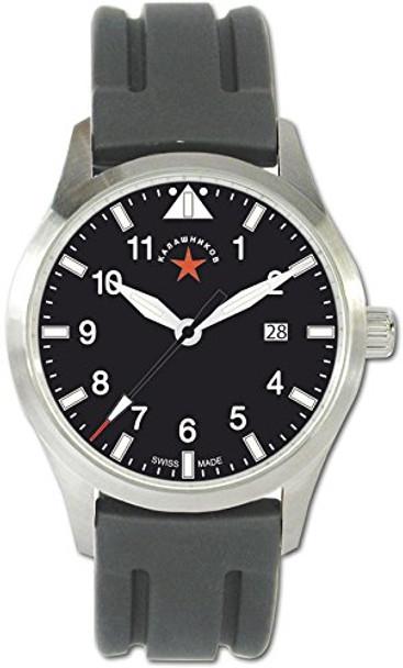 BOKER Kalashnikov Justice 2 Silicon Band Waterproof Watch (09KAL507)