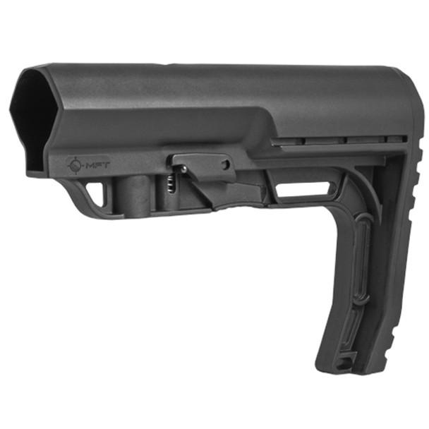 MFT Battlelink Minimalist Mil-Spec Black Fixed Buttstock with Standard Hardware (BMSMIL)