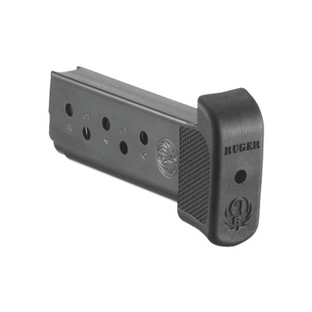RUGER LCP 380 ACP 7rd Steel Magazine with Finger Rest (90405)