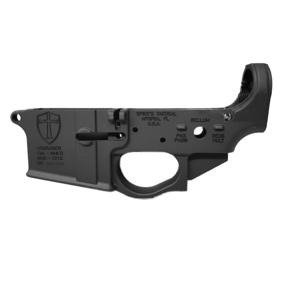 SPIKE'S Crusader AR15 Stripped Lower Receiver (STLS022)