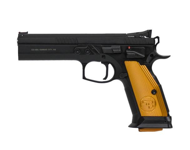 CZ 75 Tactical Sport Orange .40 S&W 5.23in 16rd Semi-Automatic Pistol (91260)