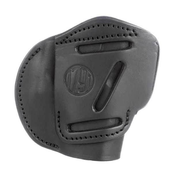 1791 GUNLEATHER 3-Way Leather Size 3 Stealth Black Belt Holster (3WH-3-SBL-A)