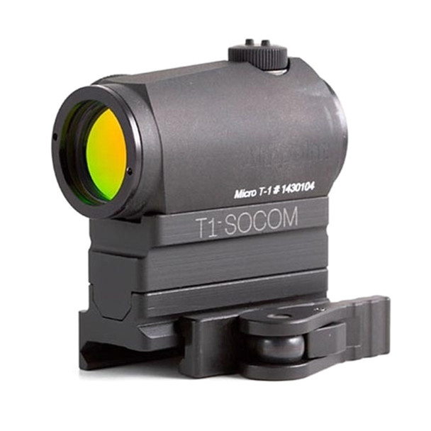 AMERICAN DEFENSE MFG Aimpoint T1 Micro Mount with Socom Height Riser (T1M-Socom)