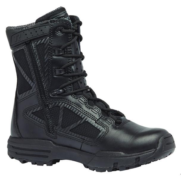 BELLEVILLE Chrome 8in Black Waterproof Side Zip Boots (TR998ZWP)