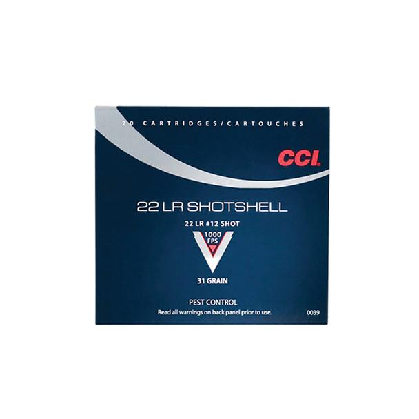 CCI Speer 22 LR 31 Grain Shotshell Ammo, 20 Round Box (39)