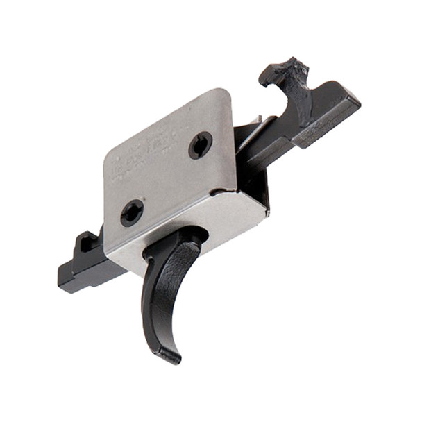 CMC TRIGGERS AR-15/AR-10 1lb/3lb Two Stage Large Pin Curved Trigger (91506)