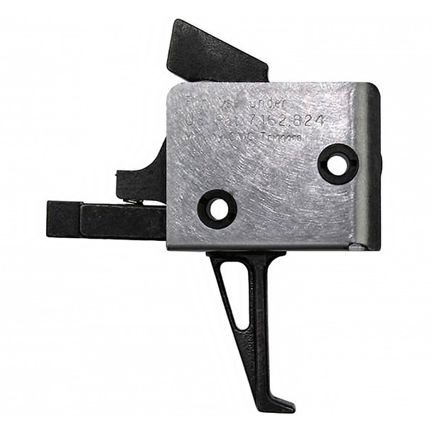 CMC TRIGGERS AR Duty Patrol 4.5-5 lb Traditional Curved Single Stage Trigger (92505)