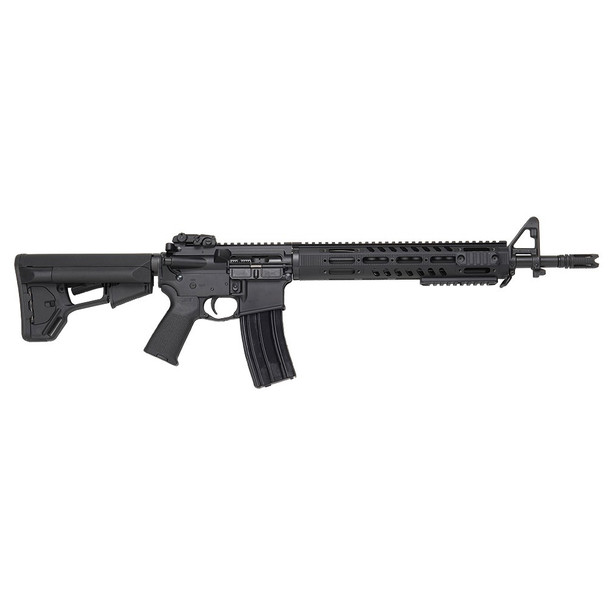 DPMS Tac2 Semi-Automatic 30rd 5.56mm Matte Black 16in AR15 Rifle with Bayonet Lug and Flash Hider (60545)