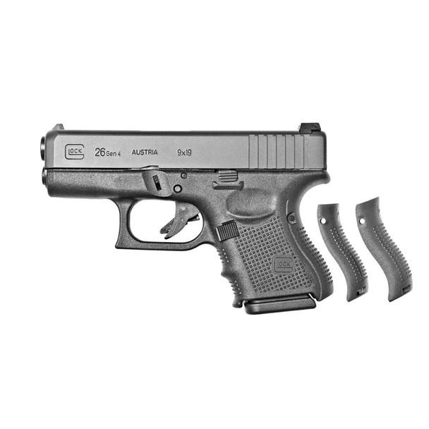 GLOCK 26 GEN4 Semi-Automatic 9mm Sub-Compact Pistol CA Compliant (PG2650201)