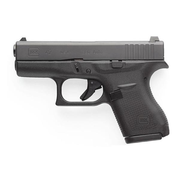 GLOCK 42 Semi-Automatic 380 ACP Sub-Compact Pistol Made in USA/CA Compliant (UI4250201)