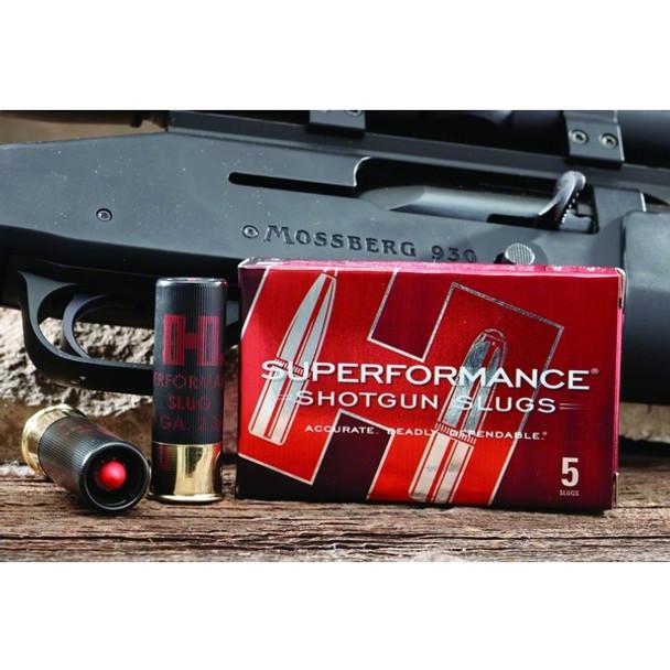 HORNADY Superformance 20 Gauge 2 75in Sabot Slug Ammo, 5 Round Box (86237)