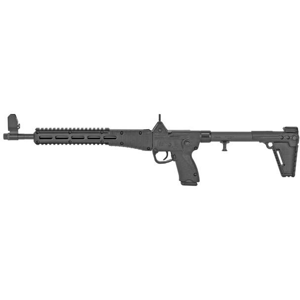 KEL-TEC Sub-2000 9mm 16in Semi-Automatic Rifle fits 17rd Glock 17 Magazine (SUB2K9GLK17BBLKHC)
