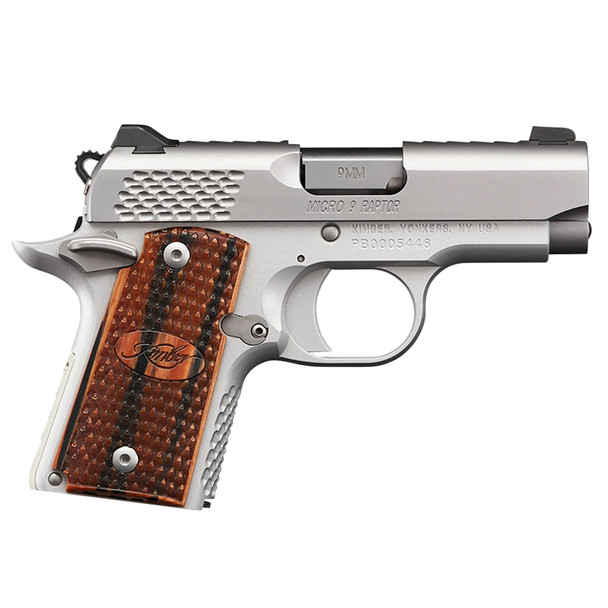 KIMBER Micro Raptor 9mm 6Rd Semi-Automatic Pistol (3300109)