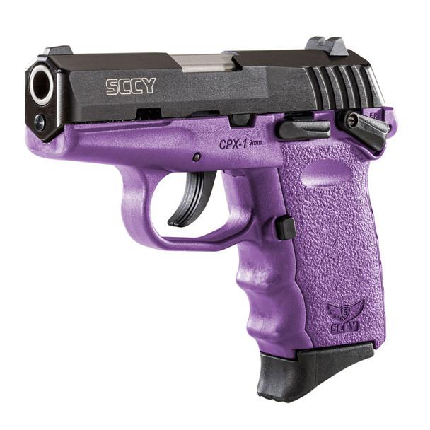 SCCY CPX-1 9mm 3.1in 10rd Semi-Automatic Pistol (CPX1CBPU)