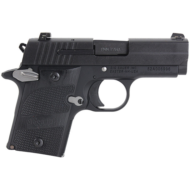 SIG SAUER P938 Black Nightmare 3in 9mm 6rd Pistol (938-9-NMR-AMBI)