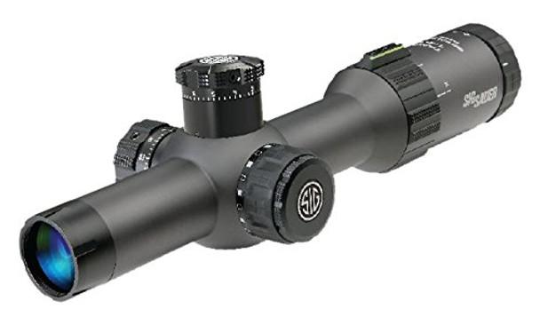 SIG SAUER Tango4 1-4x24 30mm FFP Graphite Illuminated MRAD Milling Reticle Riflescope (SOT41004)