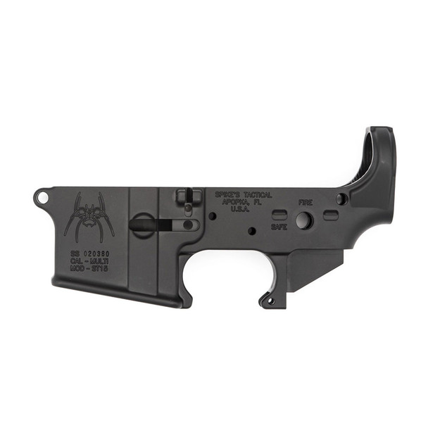 SPIKES TACTICAL AR-15 Spider Stripped Lower Receiver (STLS018)