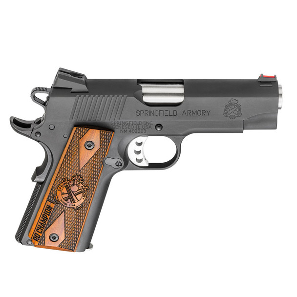SPRINGFIELD ARMORY 1911-A1 Range Officer Champion .45 ACP 4in 7rd Semi-Automatic Pistol (PI9136L)