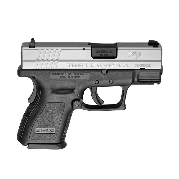 SPRINGFIELD ARMORY XD Sub-Compact 40 S&W 3in 9rd Pistol (XD9822)