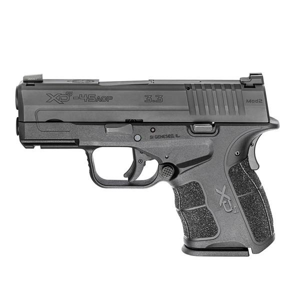 SPRINGFIELD ARMORY XD-S Mod.2 .45 ACP 3.3in 1x5rd 1x6rd Semi-Automatic Pistol (XDSG93345BT)