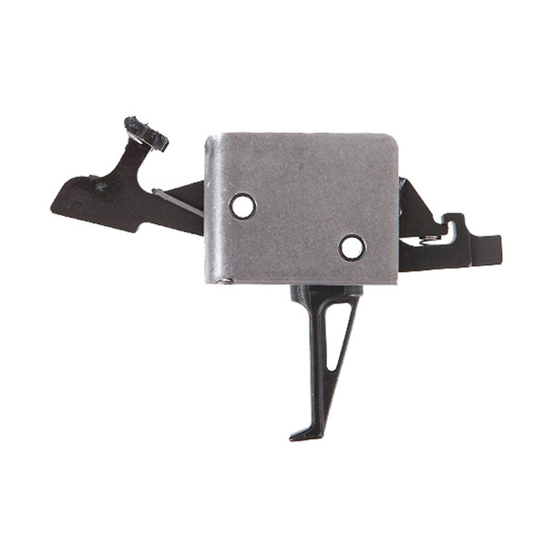 CMC TRIGGERS AR-15/AR-10 2lb/2lb Two Stage Large Pin Flat Trigger (92508)