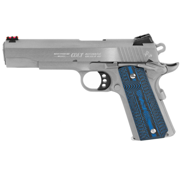 COLT 1911 Competition .45 ACP 5in 8rd Stainless Semi-Automatic Pistol (O1070CCS)