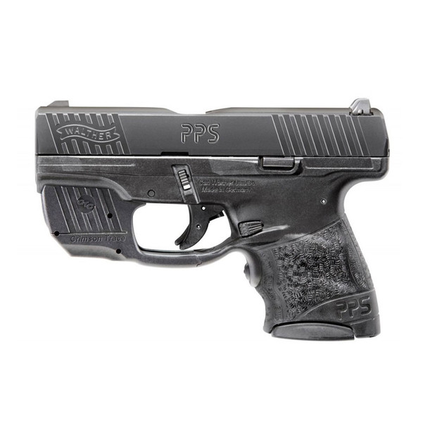 WALTHER PPS M2 9mm 3.18in 2x 7rd Semi-Automatic Pistol with Crimson Trace Laser (2805963)