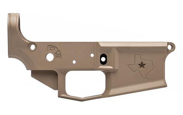 AERO PRECISION M4E1 Stripped Lower Receiver, Special Edition: Texas - FDE Cerakote (APAR600004C)