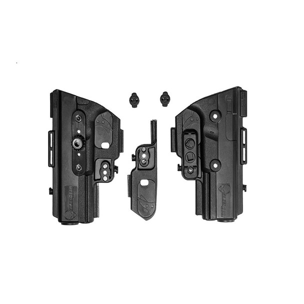 ALIEN GEAR ShapeShift Shell S&W M&P Shield 9mm Right Hand Black Holster Kit (SSSK-0404-RH)
