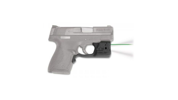 CRIMSON TRACE Green Laserguard Pro for Smith and Wesson M&P Shield 9mm and 40 S&W (LL-801G)
