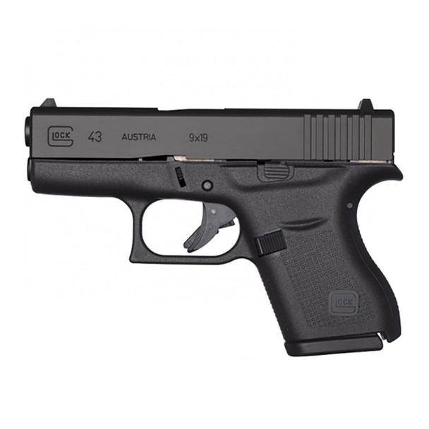GLOCK 43 Semi-Automatic 9mm Sub-Compact Pistol CA Compliant (PI4350201 )