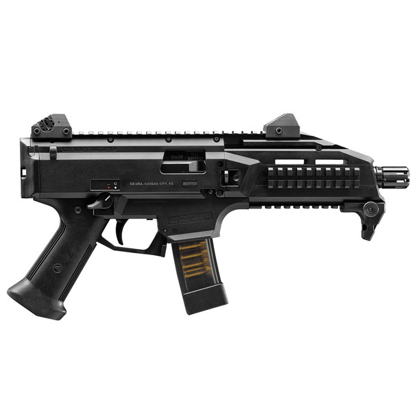 CZ Scorpion EVO 3 S1 9mm 7.7in Threaded Barrel 10Rd Black Pistol (01351)