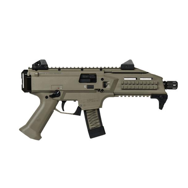 CZ Scorpion EVO 3 S1 9mm 7.7in 10rd FDE Semi-Automatic Pistol (01352)