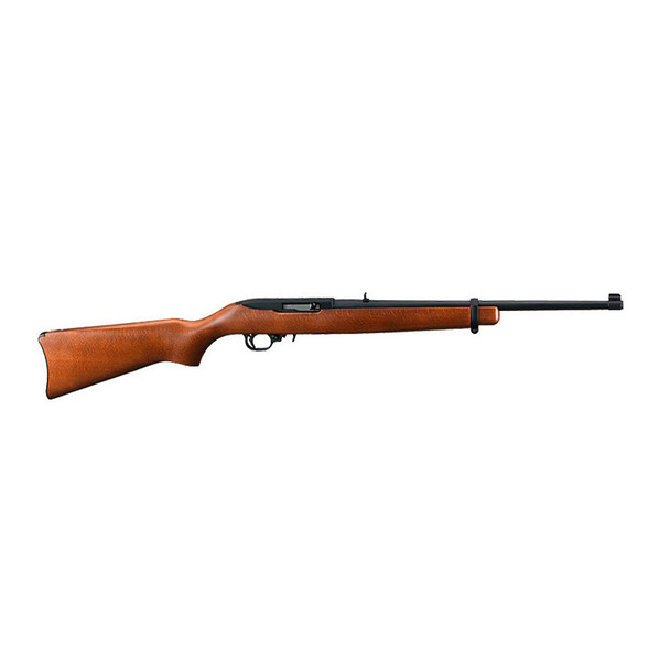 RUGER 10/22 .22 LR 18.5in 10rd Hardwood Stock Semi-Automatic Rifle (1103)