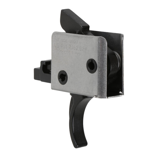 CMC TRIGGERS AR-15/AR-10 Two Stage 2lb/2lb Large Pin Curved Trigger (92506)