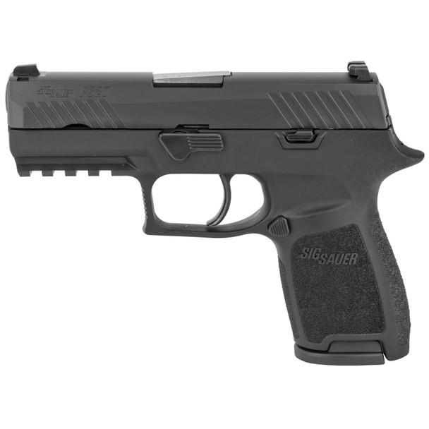 SIG SAUER P320 Black Nitron 3.9in 9mm 15rd Pistol (320C-9-B)