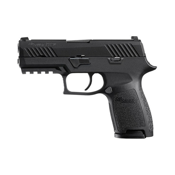 SIG SAUER P320 Compact 9mm 3.9in 10rd Semi-Automatic Pistol (320C-9-B-10)