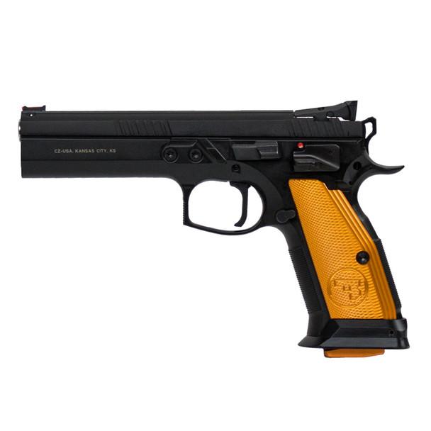 CZ 75 Tactical Sport Orange 9mm 5.23in 20rd Semi-Automatic Pistol (91261)