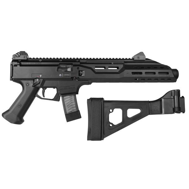 CZ Scorpion EVO 3 S1 9mm 7.7in Threaded Barrel 20Rd Black Pistol (91354)