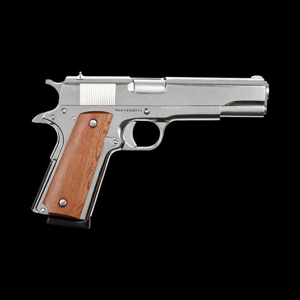 ROCK ISLAND ARMORY GI Series Standard FS Nickle 45 ACP 1911 Pistol (51433)
