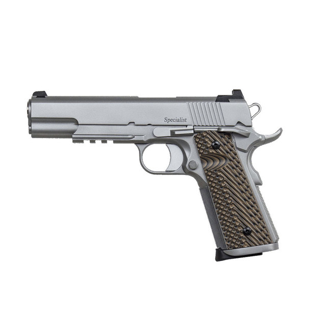 DAN WESSON Specialist Stainless .45 ACP 5in 8rd Semi-Automatic Pistol (01993)