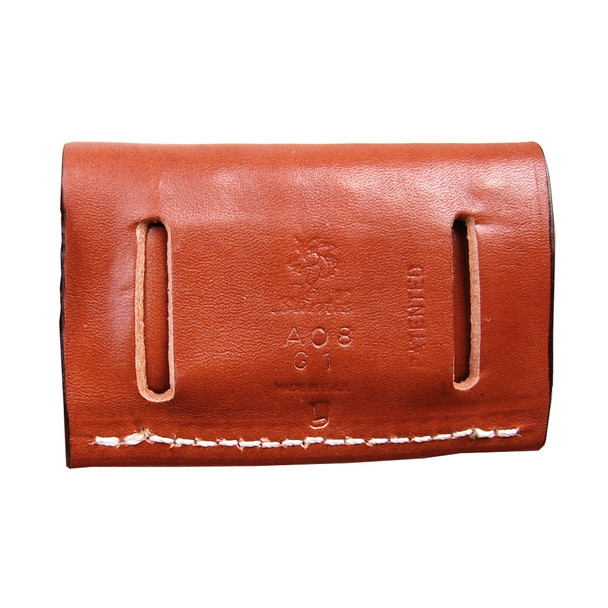 DESANTIS GUNHIDE 2 x 2 x 2 Tan Leather Cartridge Pouch (A08TJG1Z0)