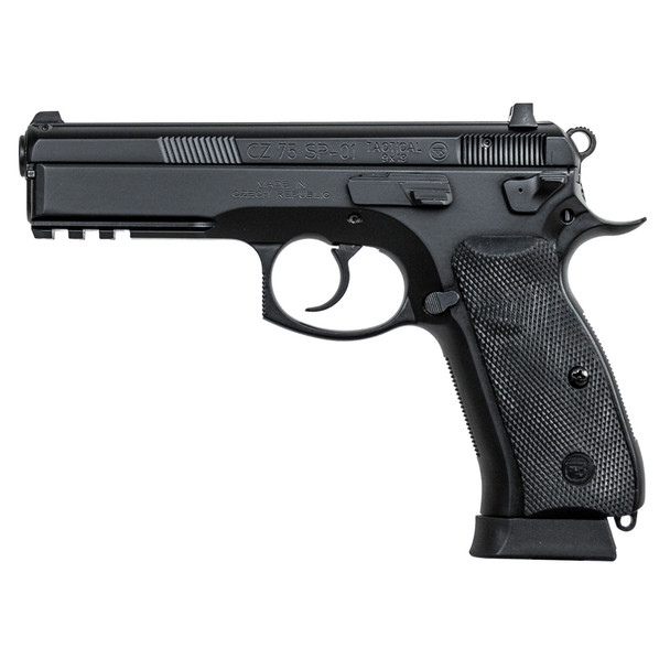 CZ SP-01 Tactical 9mm 4.6in 18rd Semi-Automatic Pistol (91153)