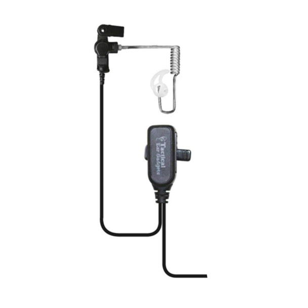 EAR PHONE CONNECTION Hawk Long Tube Lapel Microphone with Quick Release Adapter (EP1334QR-PTT)