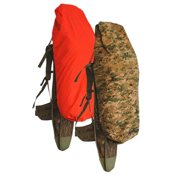 EBERLESTOCK Reversible UNICAM II & Orange Large Backpack Rain Cover (J2RCMU)