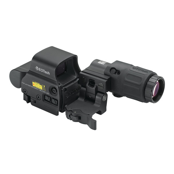 EOTECH Hybrid I Four 1 MOA Dots with 68 MOA Ring with Magnifier Holographic Sight (HHS1)