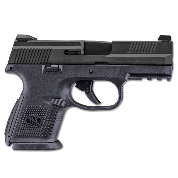 FN AMERICA FNS-9 Compact 3.6in Barrel 3x 10Rd Mag Black Pistol (66694)