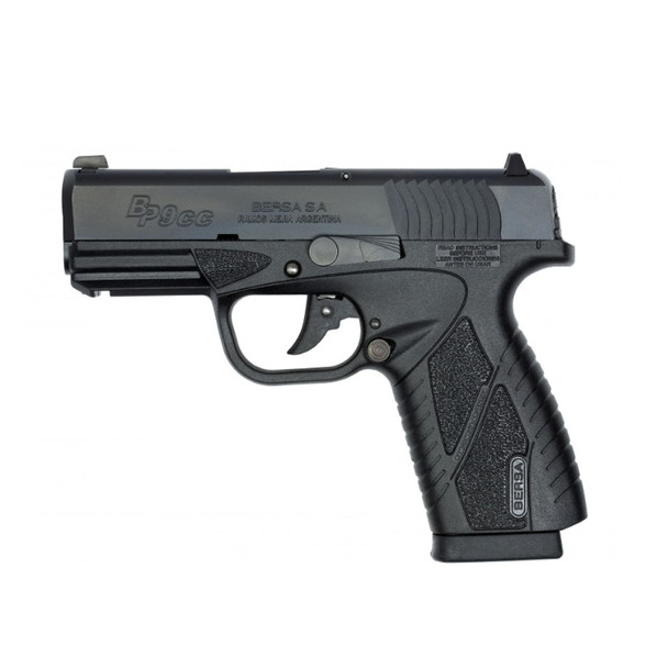 BERSA BPCC Compact 9mm 3.3in 8rd Semi-Automatic Pistol (BP9MCC)