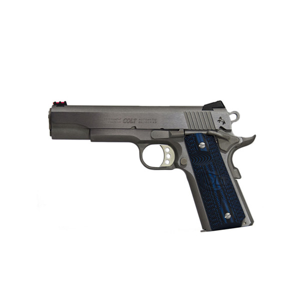 COLT 1911 Competition .38 Super 5in 9rd Stainless Semi-Automatic Pistol (O1073CCS)