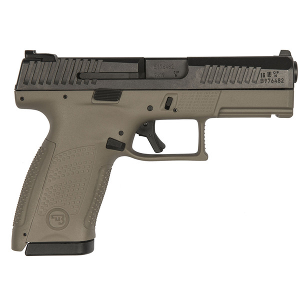 CZ Flat Dark Earth P-10 C 9mm 10rd Pistol (01521)